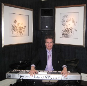 No piano...no problem! Arnie can provide his professional keyboard and sound system for your wedding ceremony.