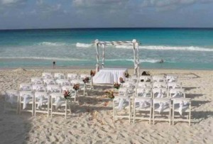 Beach Wedding performance with no electricity avaialable. No problem...I have a portable battery-operated keyboard and sound system. Ha!
