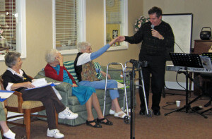NJ Pianist Arnie Abrams Performing for Senior Center