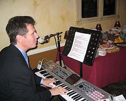 Call me or email me today so we can schedule a piano player for your Christmas party!