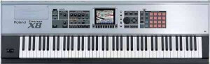 Arnie's Yamaha Motif XF Portable Keyboard/Synthesizer
