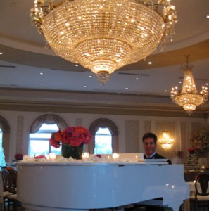 NJ Pianist Arnie @ the beautiful Rockleigh Country Club venue in Rockleigh, NJ