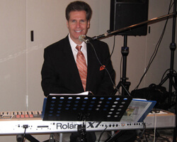 NJ Pianist Arnie Abrams at an Engagement Party in Freehold, NJ