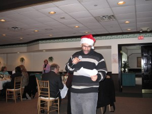 Soloist from Arnie's Holiday Sing-Along