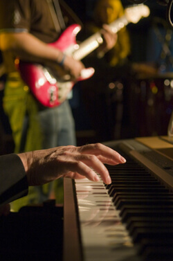 The uncompromised talent of a jazz trio adds to any event in New Jersey, New York City or Philadelphia. Click to hear an audio sample from our NJ jazz trio.
