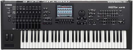 Arnie's Yamaha Motif XF Portable Keyboard/Synthesizer