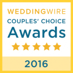 Arnie Abrams Entertainment WeddingWire Couples' Choice Award Winner 2016